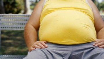 overweight men